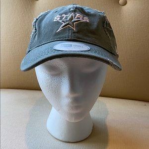 DALLAS STARS Distressed Style Women's Ballcap Hat